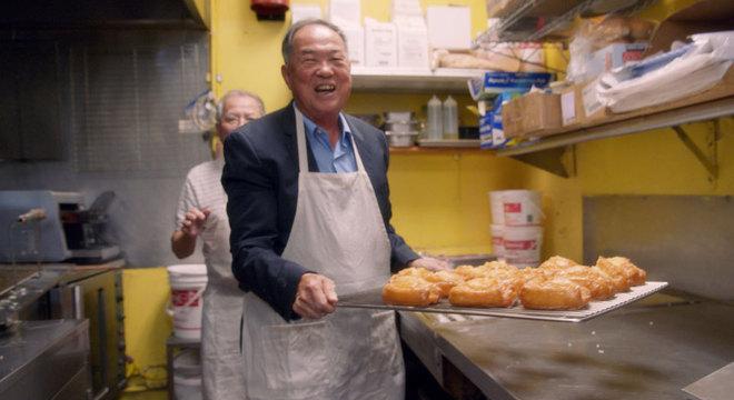 Ted conheceu a geração mais nova de fabricantes de donuts