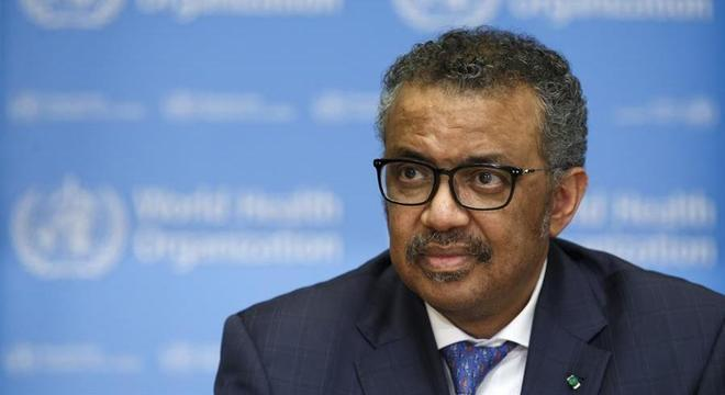 Diretor-executivo da OMS Tedros Adhanom se manifestou nesta segunda-feira (31)