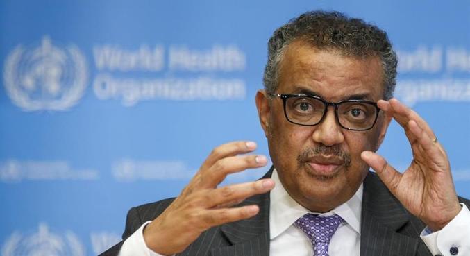 Diretor da Adhanom elogiou medidas de saúde pública tomadas pelos países