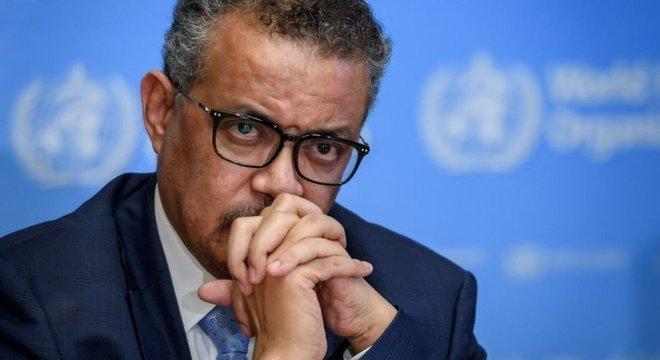 Tedros Ghebreyesus, diretor-geral da OMS, disse que não hesitará em declarar uma pandemia quando houver evidências científicas disso