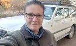 Jess. que trabalha para a empresa de pesquisas de conservaçãoWildCRU, disse em entrevista ao Daily Mail que se assustou inicialmente com o estado dos chifres do animal