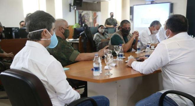 Ministro da Saúde participou de reunião com autoridades do Amazonas
