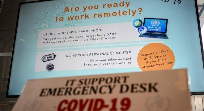 Pandemia da covid-19 promoveu um aumento do trabalho de casa