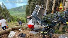 Responsável por teleférico que caiu na Itália admite que desativou trava
