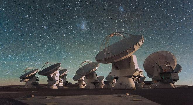 Uma rede de observatórios mundiais, da qual o Chile é um país líder, permitiu o avistamento