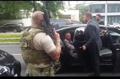 Temer foi preso em São Paulo