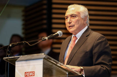 Presidente durante evento em Belo Horizonte