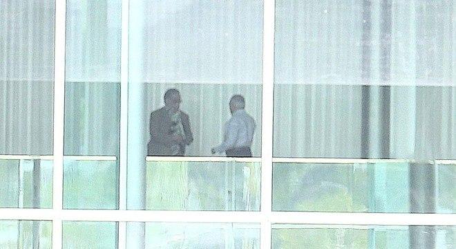 Temer se reuniu hoje no Palácio do Alvorada com ministros