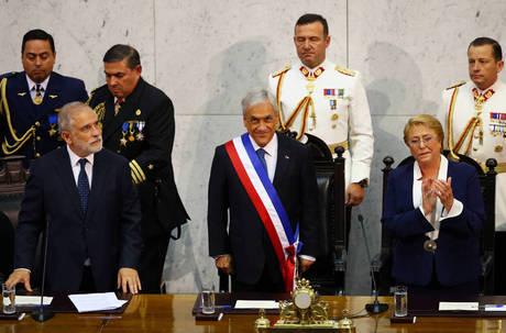 Piñera assume presidência do Chile pela segunda vez