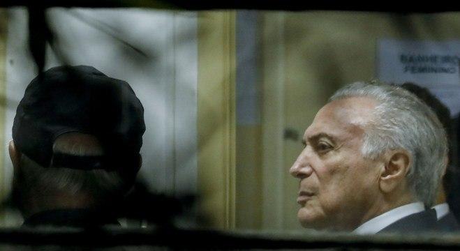 Ex-presidente Temer passa a noite em sala da Superintendência da PF em SP