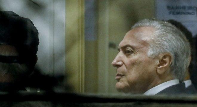 Temer já está preso em SP e foi citado em delação do empresário