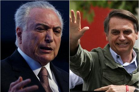 Temer e Bolsonaro vão se reunir na quarta-feira (7)