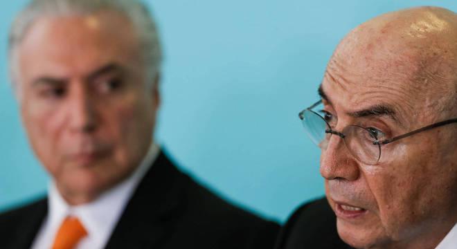 Temer defendeu medidas adotadas em seu governo pelo ex-ministro Meirelles