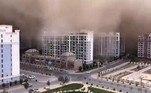 Tempestade de areia na China