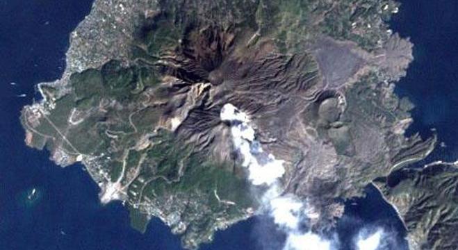 O Sakurajima é um dos vulcões mais ativos do Japão