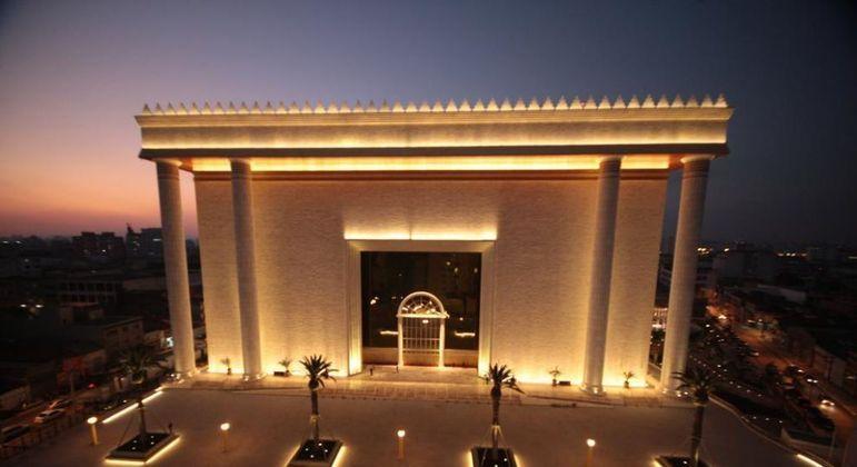 Templo de Salomão já foi visitado por mais de 24 milhões de visitantes