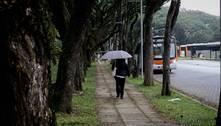 Frente fria traz chuva e abaixa as temperaturas em São Paulo