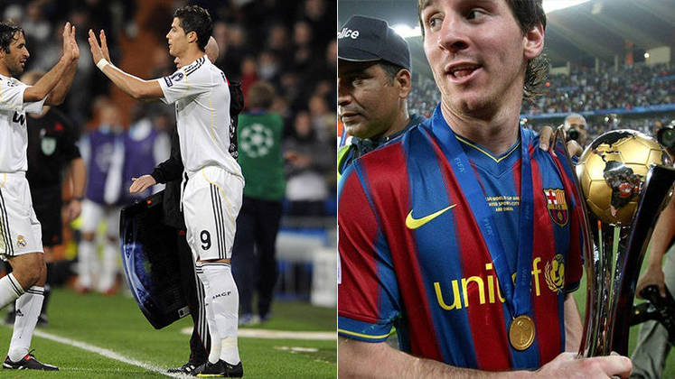 Temporada 2009/2010 - Cristiano Ronaldo (Real Madrid) 35 jogos oficiais e 33 gols x Messi (Barcelona) 53 jogos oficiais e 47 gols