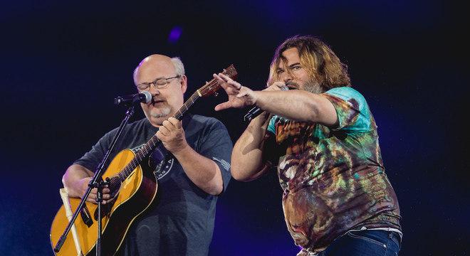 Tenacious D estreia no Brasil com muito rock, carisma e forró no Rock in Rio 2019