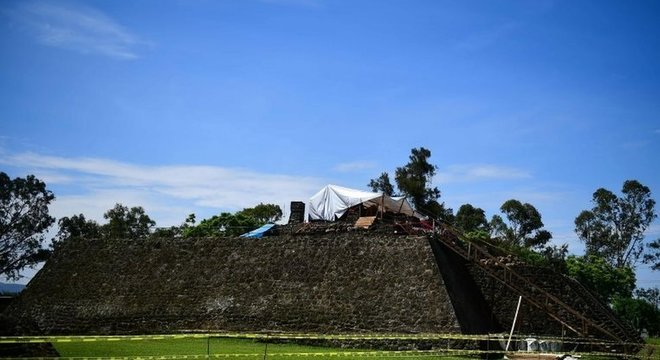 Segundo arqueóloga, terremoto de magnitude 7,1 que atingiu o México em setembro causou danos consideráveis a Teopanzolco