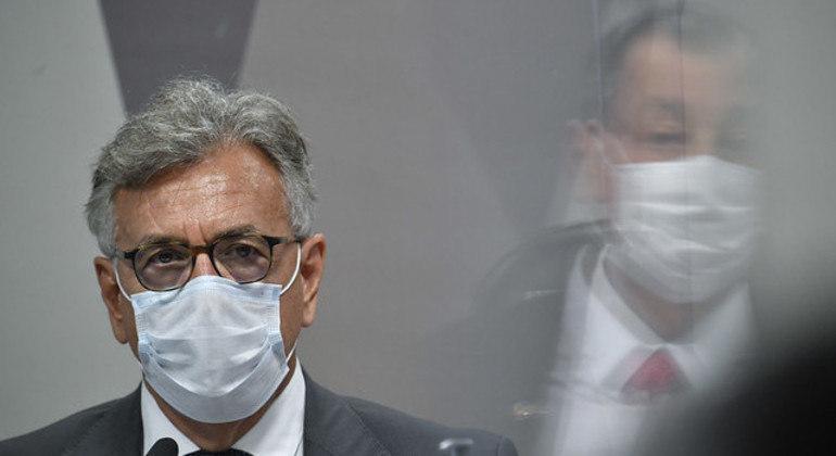 O tenente-coronel Hélcio Bruno de Almeida teria intermediado negociações para a compra de vacinas junto ao Ministério da Saúde