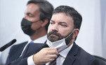 ex-assessor do Departamento de Logística do Ministério da Saúde, tenente-coronel da reserva Marcelo Blanco da Costa.