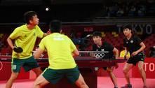 Equipe masculina do Brasil perde para Coreia do Sul no tênis de mesa