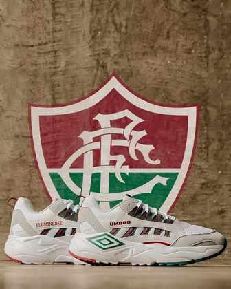 Tênis especial para o Fluminense