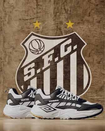 Tênis especial para o Santos
