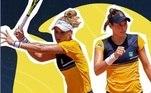 Laura Pigossi e Luisa Stefani venceram a dupla do Canadá na estreia do torneio de duplas de tênis em Tóquio