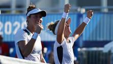Laura e Luisa vencem dupla dos EUA e vão às semifinais do tênis