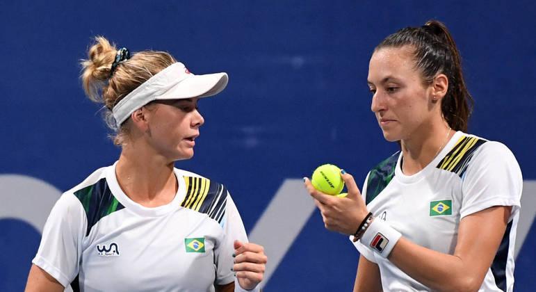 Laura Pigossi e Luisa Stefani, dupla feminina de tênis do Brasil na Olimpíada de Tóquio 2020