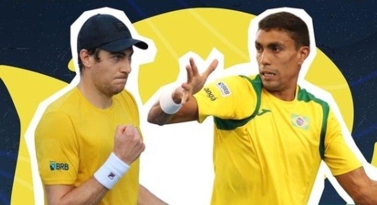 Marcelo Demoliner fará dupla com Thiago Monteiro na Olimpíada de Tóquio