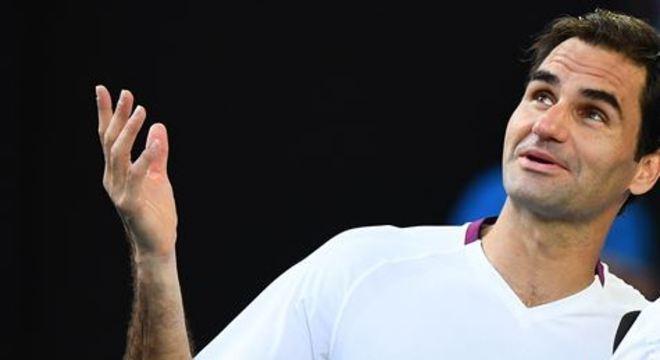 Tenista suiço derrotou Tennys Sandgren e agora terá o sérvio Novak Djokovic pela semifinal do Aberto da Austrália