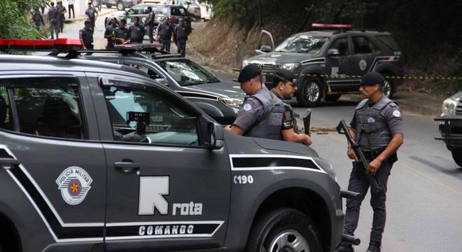 Policiais da Rota trocaram tiros com suspeitos em Guararema: 11 mortos