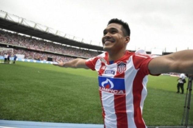 Teo Gutierrez - 35 anos - Clube atual: Junior Barranquilla-COL (Grupo D)