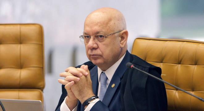 O ministro do STF Teori Zavascki, morto em janeiro de 2017