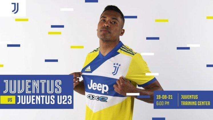 Terceira camisa da Juventus, lançada no mês passado, foi comparada a bola de vôlei e ao uniforme dos Correios (Agosto/2021)