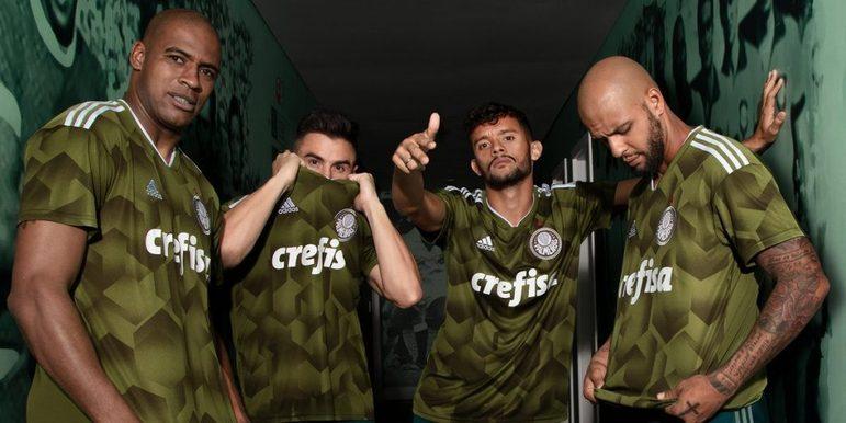Terceiro uniforme do Palmeiras lançado pela Adidas em Outubro/2018