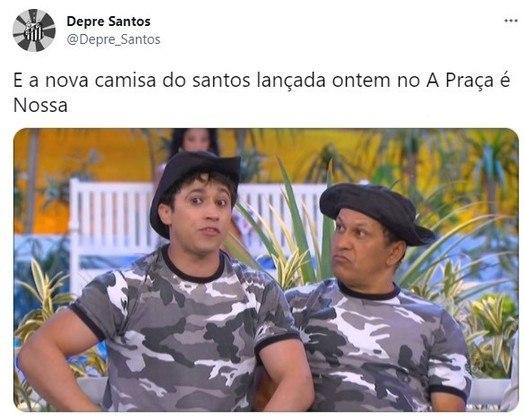 Terceiro uniforme do Santos, lançado em Setembro/2017, foi comparado à Patrulha Maluca
