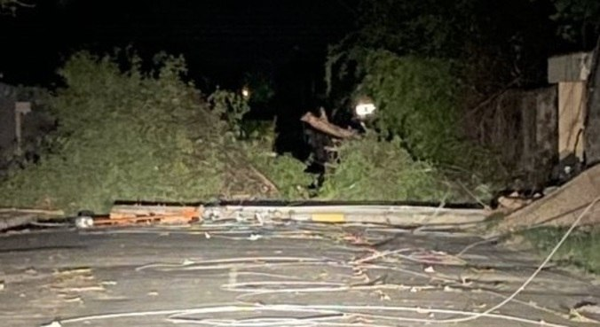 Após temporal, bairros de Teresina ficam luz por mais de 36 horas