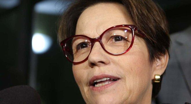 deputada Tereza Cristina (DEM) será ministra da Agricultura do governo Bolsonaro
