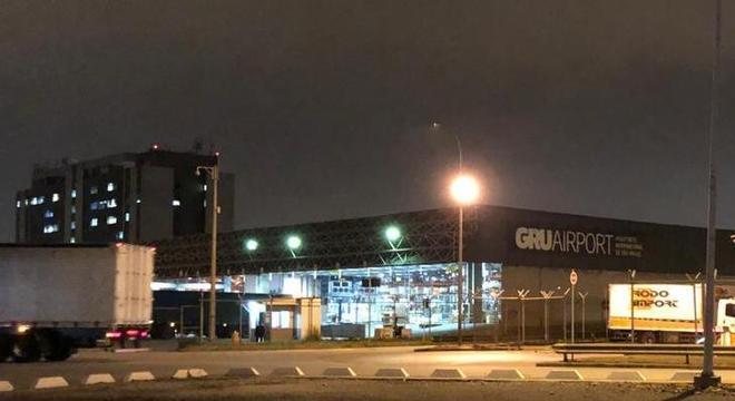 Terminal de cargas do aeroporto de Guarulhos, onde ocorreu o roubo