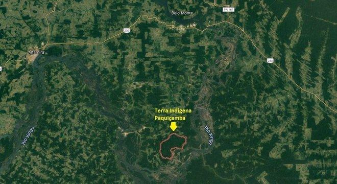 Terra Indígena Paquiçamba concentra parte da comunidade juruna que ficou na Volta Grande