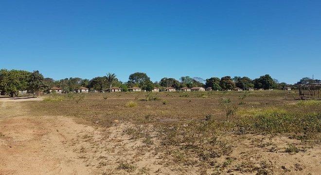 Terra Meruri, em General Carneiro, onde foram registrados diversos casos de covid-19 nas últimas semanas
