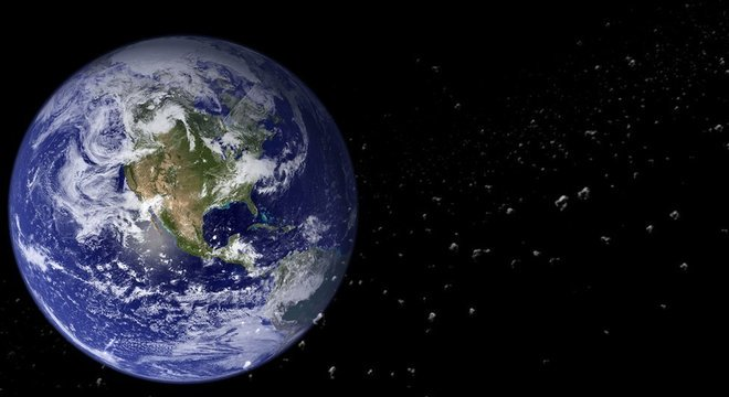 Antes da atual divisão, na era Mesozoica, todos os continentes da Terra estavam unidos em um só