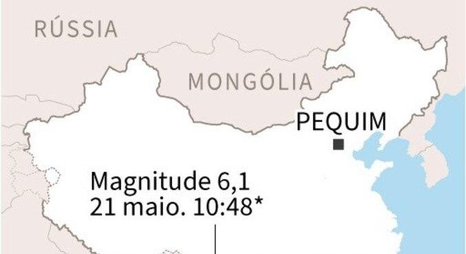 Autoridades do país solicitaram que a população se afastasse dos prédios da região