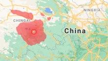 Terremoto de magnitude 7,3 atinge província chinesa de Qinghai