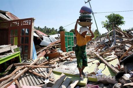 Quase 400 mil pessoas foram afetadas pelo terremoto em Lombok