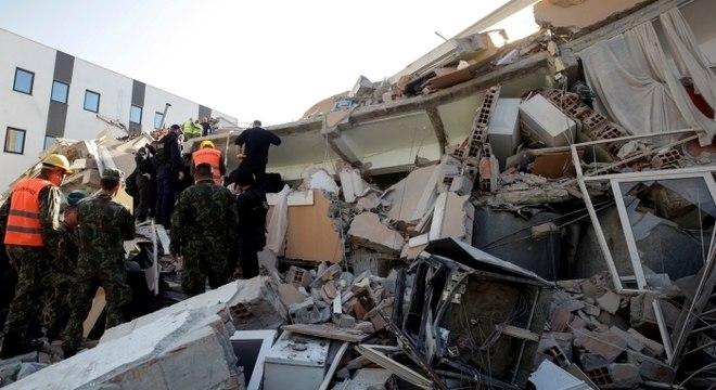 Mais de dez pessoas morreram em decorrência do terremoto
